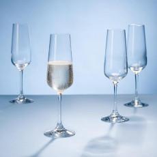 Villeroy & Boch Ovid crystal glass sparkling wine glass set 4 pcs. 0,25 L / h: 228 mm