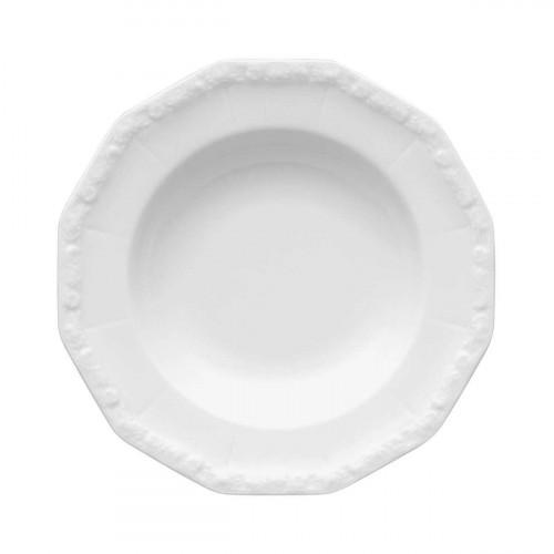Rosenthal 'Maria weiß' Суповая тарелка 23 см
