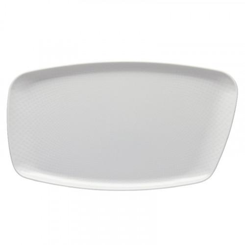 Rosenthal Junto Weiß - Porzellan Platte 36x21 cm
