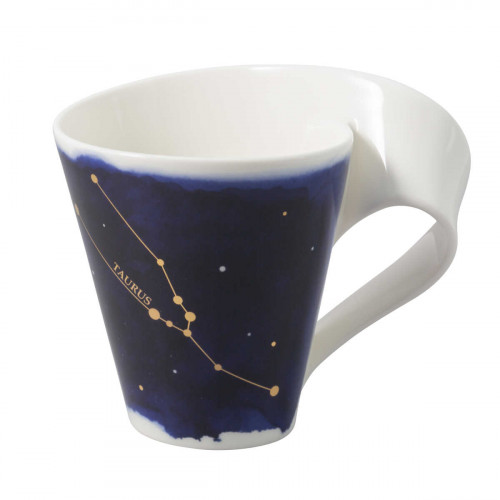Villeroy & Boch NewWave Stars Becher mit Henkel Stier / Taurus 0,30 L