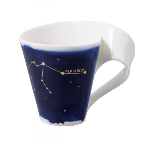 Villeroy & Boch NewWave Stars Becher mit Henkel Wassermann / Aquarius 0,30 L