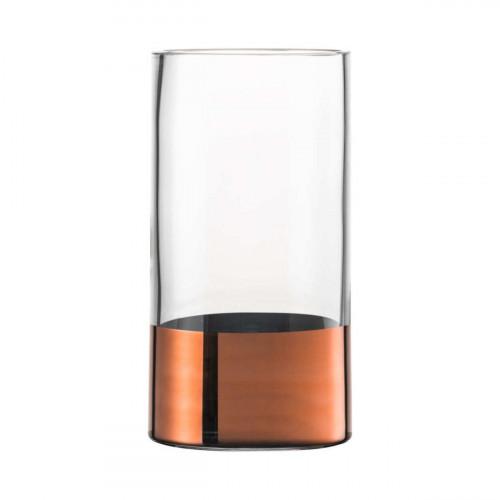 Eisch Kaya Kupfer Vase Glas h: 23 cm