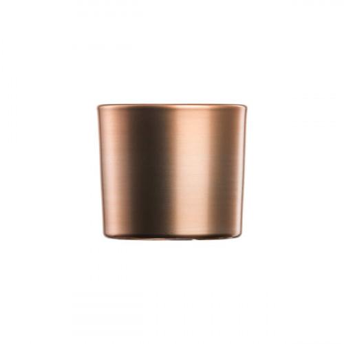 Eisch Kaya Kupfer Teelicht Glas d: 9 cm / h: 7,8 cm