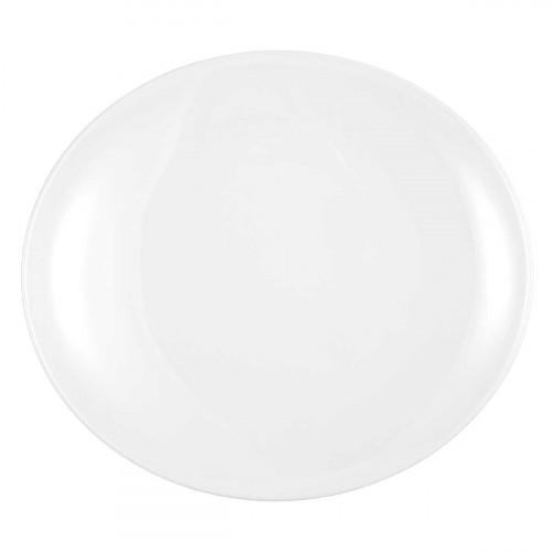 Seltmann Weiden Modern Life Weiß Platzteller / Platte oval  34 cm