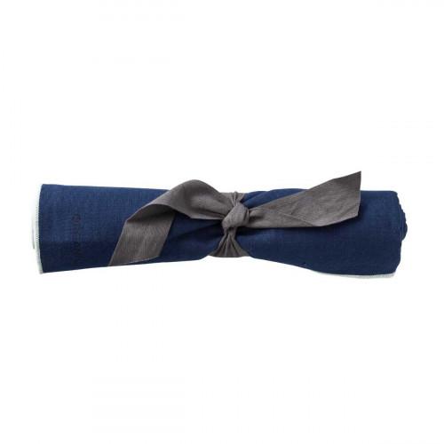 Organic by Bitz & Södahl indigo / light blue Geschirrtuch 55x80 cm