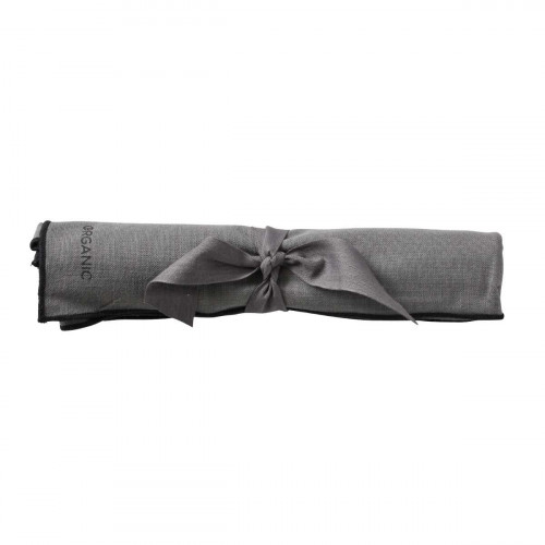 Organic by Bitz & Södahl grey / black Geschirrtuch 55x80 cm