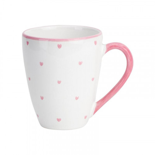 Gmundner Keramik,'Herzerl Rosa' Кружка Max для завтрака 0.3 л