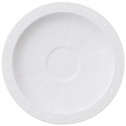 Villeroy & Boch,'White Pearl' Блюдце для чашки для мокка / эспрессо,13 см