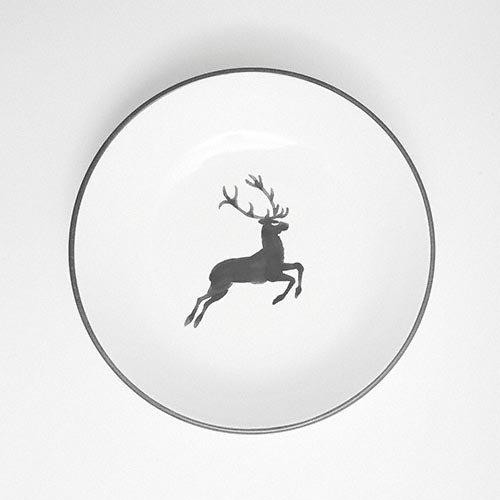 Gmundner Keramik,'Grauer Hirsch' Суповая тарелка Cup 20 см