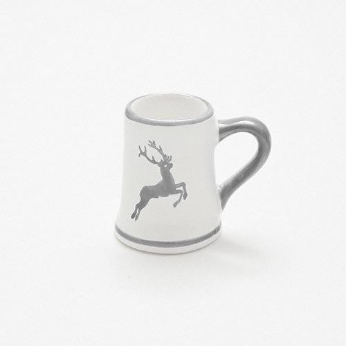 Gmundner Keramik,'Grauer Hirsch' Кувшин/ стопка Высота: 5 см