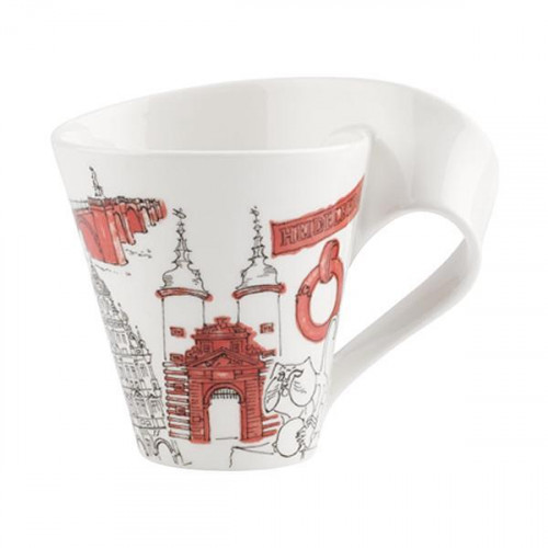 Villeroy & Boch,'New Wave Caffè Cities of the World - Heidelberg' Кружка с ручкой,0.35 л