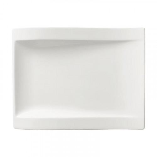 Villeroy & Boch,'New Wave' Тарелка для завтрака прямоугольная 26x20 см