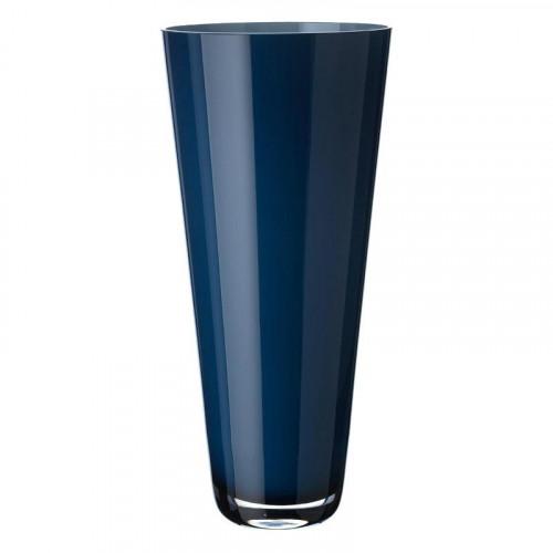 Villeroy & Boch Vasen,'Verso - Glas mundgeblasen' Ваза,цвет: midnight sky,38 см