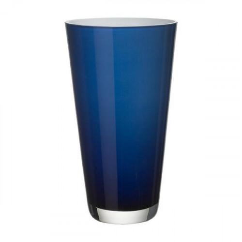 Villeroy & Boch Vasen,'Verso - Glas mundgeblasen' Ваза,цвет: midnight sky,25 см
