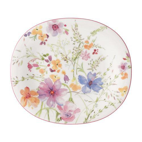 Villeroy & Boch,'Mariefleur Basic' Тарелка для завтраков овальная 23x19 см