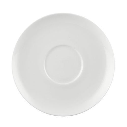 Rosenthal Jade Weiß Блюдце к чашке для кофе с молоком/ для суповой чаши 18 см