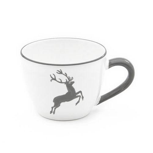 Gmundner Keramik,'Grauer Hirsch' Чашка чайная Maxima 0,4 л