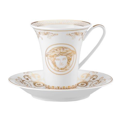 Rosenthal Versace,'Medusa Gala' Чашка кофейная с блюдцем,0.18 л