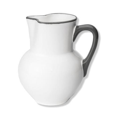 Gmundner Keramik,'Grauer Rand' Кувшин 'Wiener Form',1.0 л