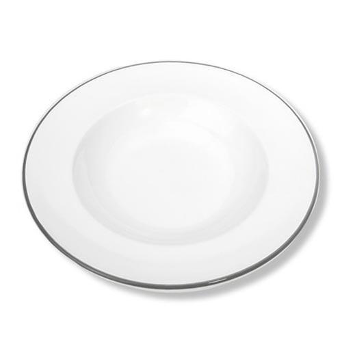 Gmundner Keramik,'Grauer Rand' Тарелка суповая 'Gourmet',24 см