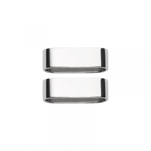 Villeroy & Boch Besteck,'Daily Line - 18/10 Edelstahl' Кольцо для салфеток,2 шт.,40 мм
