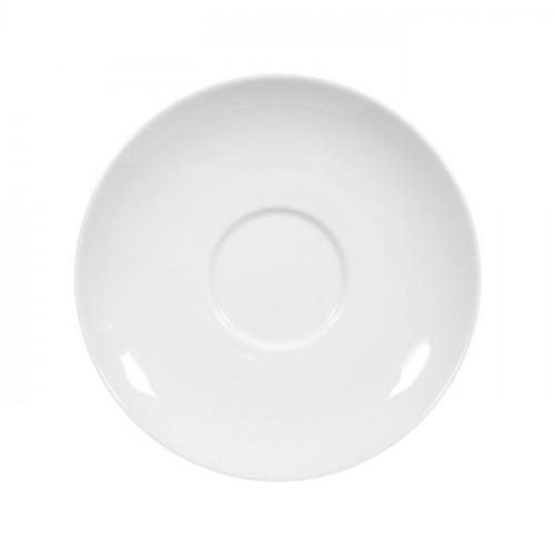 Seltmann Weiden,'Rondo / Liane weiß' Чашка для кофе с молоком - Блюдце для завтрака,16 см