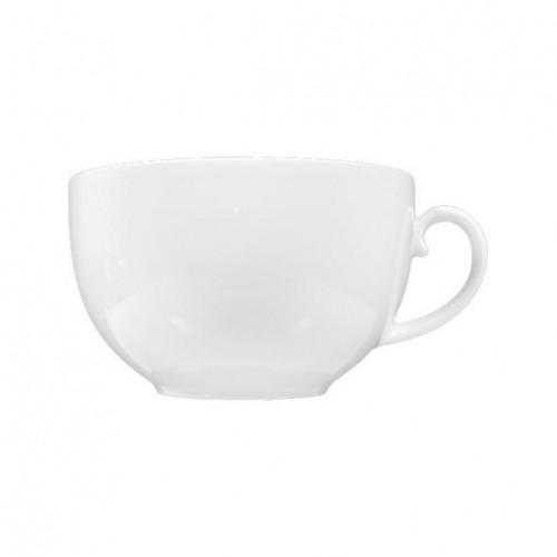 Seltmann Weiden,'Rondo / Liane weiß' Чашка для кофе с молоком / Чашка для завтрака,0,35 л