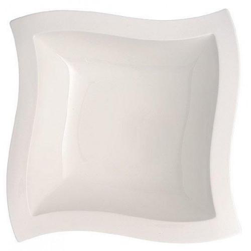 Villeroy & Boch 'New Wave' Тарелка десертная глубокая,прямоугольной формы 33 x 33 см