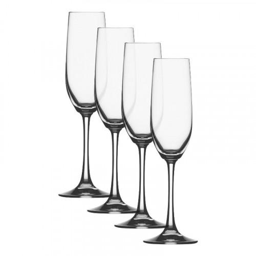 Spiegelau Gläser,'Vino Grande' Бокал-флейта для шампанского,178 мл,набор из 4 предм.