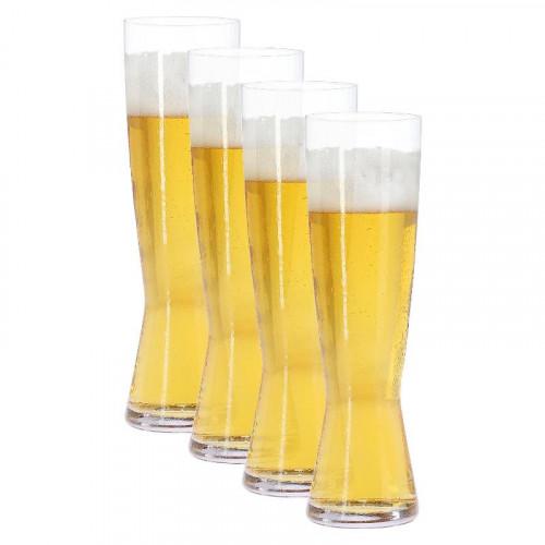 Spiegelau Gläser,'Beer Classics' Бокал для пильзенского пива Pils / Pilsstange,набор из 4 изд.