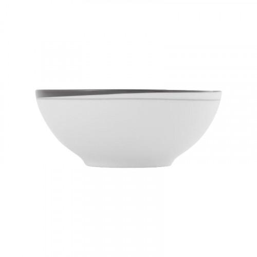 Friesland,'La Belle Black & White' Тарелка для мюсли,0.55 л / диаметр: 15 см