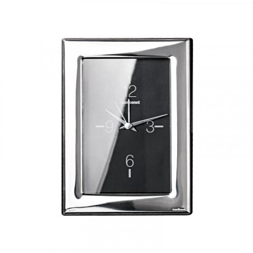 Sambonet,'Silberrahmen' Часы 'Flat' посеребрённые,9 x 13 см