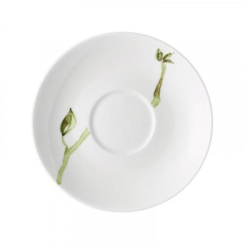 Rosenthal 'Jade Magnolie' Блюдце для кофейной чашки 15 см