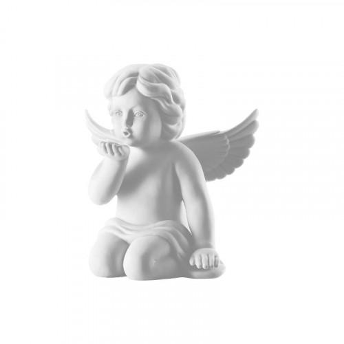 Rosenthal Selection,'Engel' Ангел с воздушным поцелуем маленький,цвет: белый матовый,6.5 см