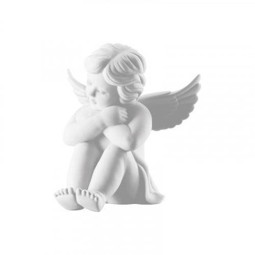 Rosenthal Selection,'Engel' Ангел сидящий маленький,цвет: белый матовый,6 см