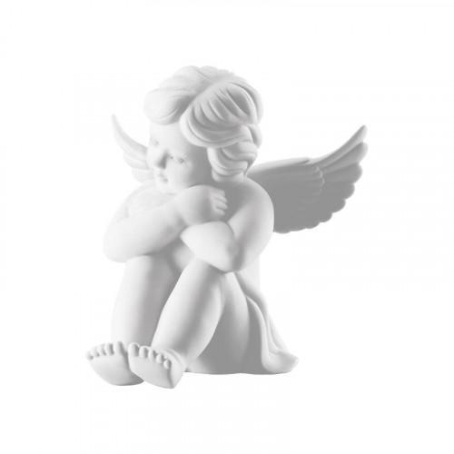 Rosenthal Selection,'Engel' Ангел сидящий средний,цвет: белый матовый,10 см