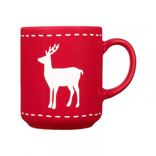 Friesland,'Happymix Weihnachten Rot' Кружка Reh,0.25 л