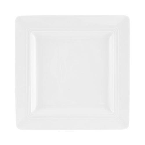 Friesland,'Jeverland weiß' Тарелка для завтрака квадратное 21,5x21,5 см