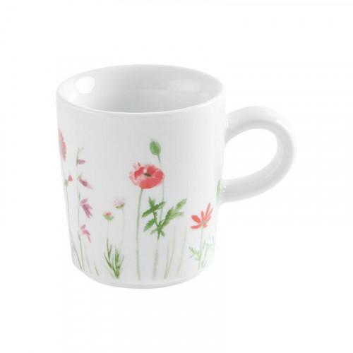 Kahla,'Magic Grip Wildblume - Five Senses' Чашка для эспрессо,цвет: красный/желтый,0.09 л