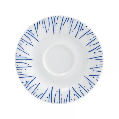 Kahla,'Pronto Wir machen Blau - Louise S.' Блюдце к чашке для эспрессо,12 см