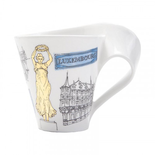 Villeroy & Boch,'New Wave Caffè Cities of the World - Luxemburg' Кружка с ручкой,0.35 л