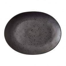 Bitz Gastro black Grillteller oval 30x22,5 cm