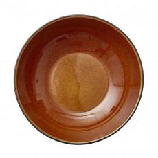 Bitz Gastro black / amber Pastaschale d: 20 cm / h: 6 cm
