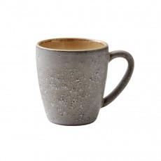 Bitz Gastro grey / cream Becher mit Henkel klein 0,19 L / h: 8 cm