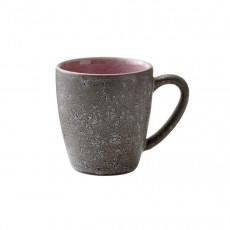 Bitz Gastro grey / light pink Becher mit Henkel klein 0,19 L / h: 8 cm