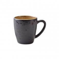 Bitz Gastro black / amber Becher mit Henkel klein 0,19 L / h: 8 cm