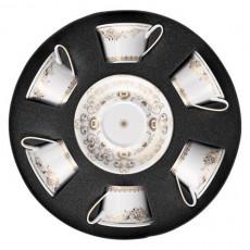 Rosenthal Versace 'Medusa Gala' Набор из 6 чайных чашек с блюдцами,0.22 л