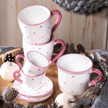 Gmundner Keramik Herzerl Rosa