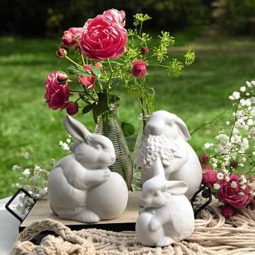 Hutschenreuther Hare Figurines