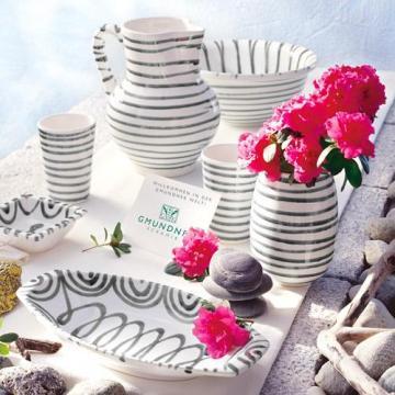 Gmundner Keramik Graugeflammt